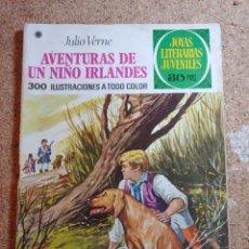 Tebeos: COMIC DE JOYAS LITERARIAS JUVENILES AVENTURAS DE UN NIÑO IRLANDÉS DEL AÑO 1978 Nº 126. Lote 269401158