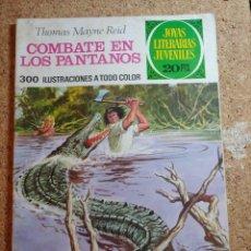 Tebeos: COMIC DE JOYAS LITERARIAS JUVENILES COMBATE EN LOS PANTANOS DEL AÑO 1975 Nº 143. Lote 269401388