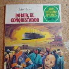 Tebeos: COMIC DE JOYAS LITERARIAS JUVENILES ROBUR EL CONQUISTADOR DEL AÑO 1979 Nº 113. Lote 269401563