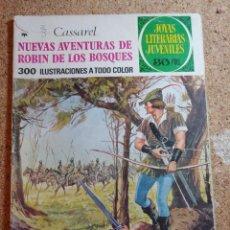 Tebeos: COMIC DE JOYAS LITERARIAS JUVENILES NUEVAS AVENTURAS DE ROBIN DE LOS BOSQUES DEL AÑO 1977 Nº 119. Lote 269401733