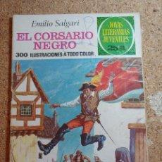 Tebeos: COMIC DE JOYAS LITERARIAS JUVENILES EL CORSARIO NEGRO DEL AÑO 1977 Nº 95. Lote 269402438