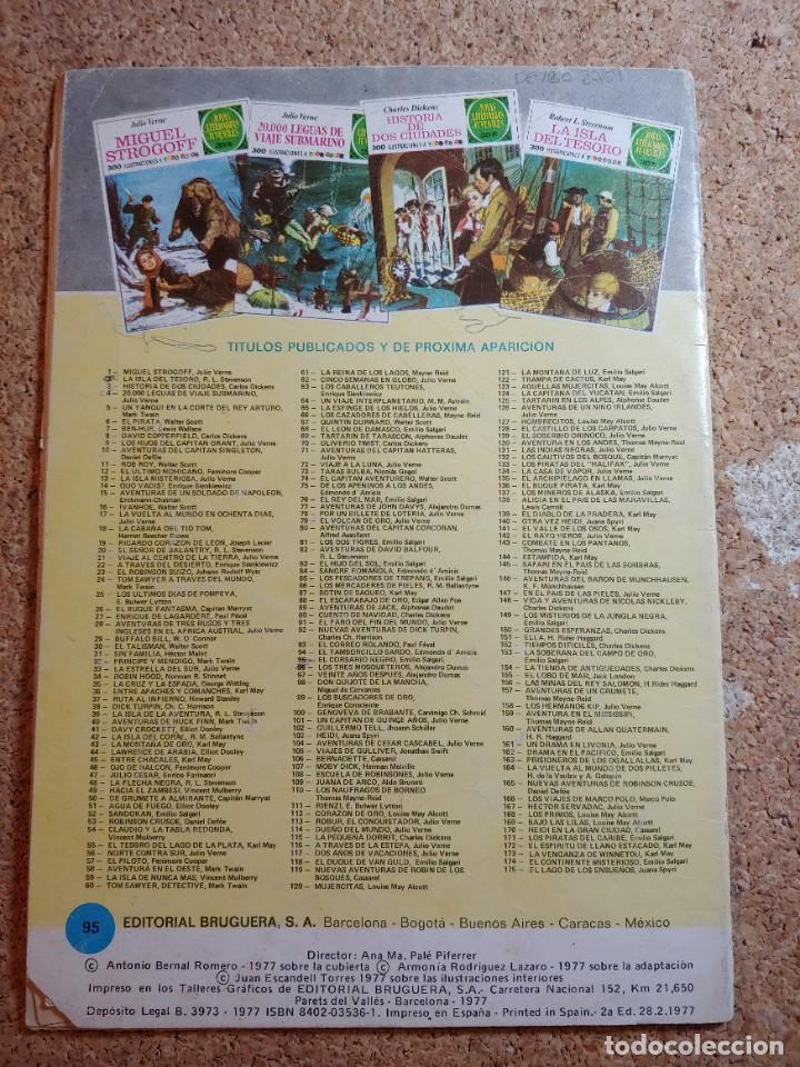 Tebeos: COMIC DE JOYAS LITERARIAS JUVENILES EL CORSARIO NEGRO DEL AÑO 1977 Nº 95 - Foto 2 - 269402438