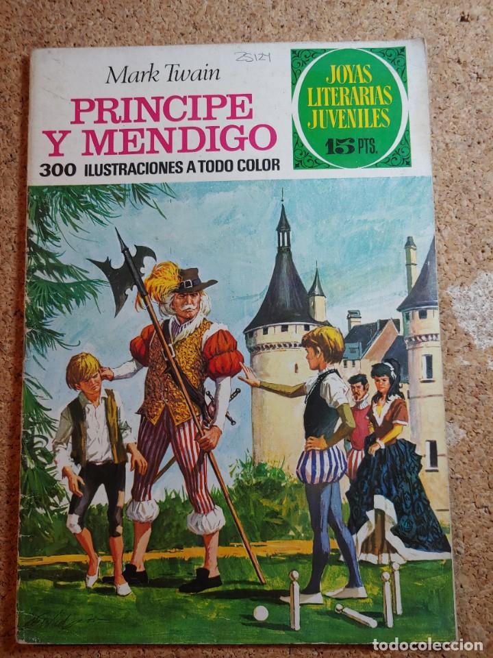 COMIC DE JOYAS LITERARIAS JUVENILES PRINCIPE Y MENDIGO DEL AÑO 1972 Nº 32 (Tebeos y Comics - Bruguera - Joyas Literarias)
