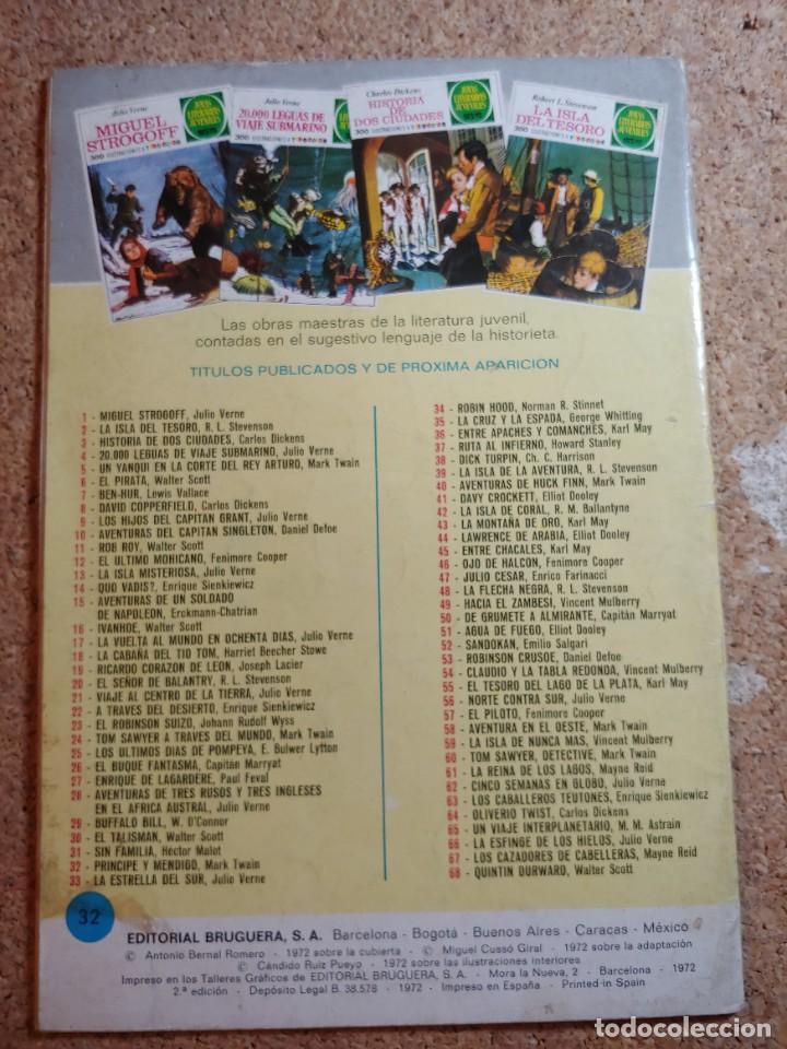 Tebeos: COMIC DE JOYAS LITERARIAS JUVENILES PRINCIPE Y MENDIGO DEL AÑO 1972 Nº 32 - Foto 2 - 269402578