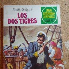 Tebeos: COMIC DE JOYAS LITERARIAS JUVENILES LOS DOS TIGRES DEL AÑO 1979 Nº 81. Lote 269402783