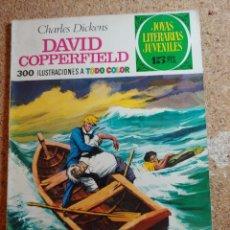 Tebeos: COMIC DE JOYAS LITERARIAS JUVENILES DAVID COPPERFIELD DEL AÑO 1974 Nº 8. Lote 269403248