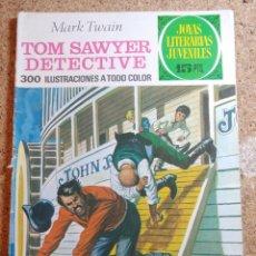 Tebeos: COMIC DE JOYAS LITERARIAS JUVENILES TOM SAWYER DETECTIVE DEL AÑO 1972 Nº 60. Lote 269403538