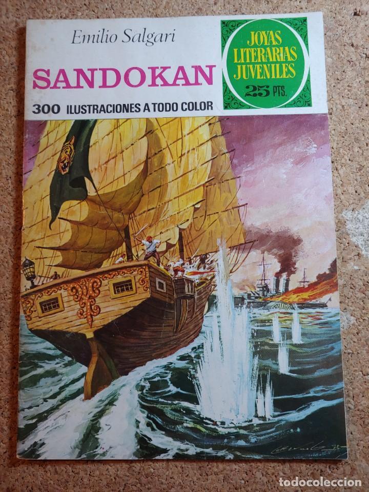 COMIC DE JOYAS LITERARIAS JUVENILES SANDOKAN DEL AÑO 1976 Nº 52 (Tebeos y Comics - Bruguera - Joyas Literarias)