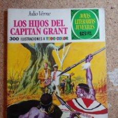 Tebeos: COMIC DE JOYAS LITERARIAS JUVENILES LOS HIJOS DEL CAPITAN GRANT DEL AÑO 1970 Nº 9. Lote 269403873