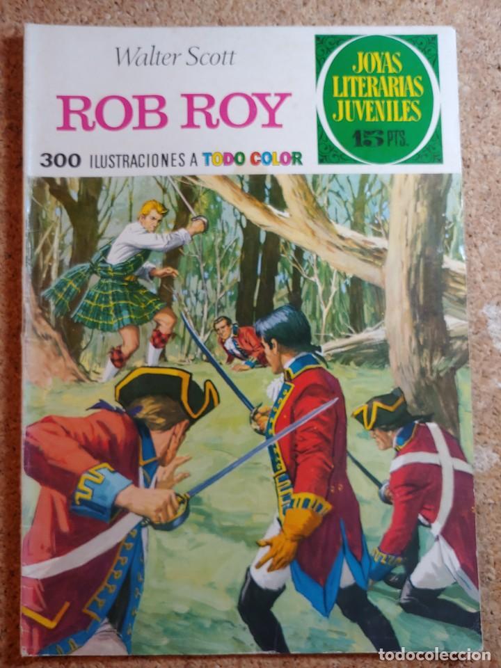 COMIC DE JOYAS LITERARIAS JUVENILES ROB ROY DEL AÑO 1974 Nº 11 (Tebeos y Comics - Bruguera - Joyas Literarias)