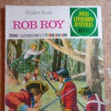 Tebeos: COMIC DE JOYAS LITERARIAS JUVENILES ROB ROY DEL AÑO 1974 Nº 11. Lote 269403983