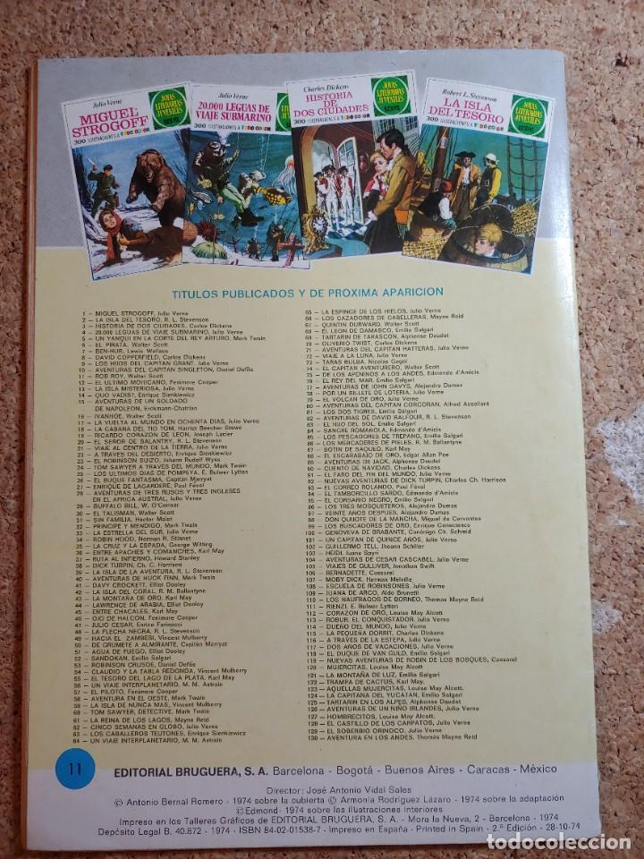 Tebeos: COMIC DE JOYAS LITERARIAS JUVENILES ROB ROY DEL AÑO 1974 Nº 11 - Foto 2 - 269403983