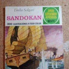 Tebeos: COMIC DE JOYAS LITERARIAS JUVENILES SANDOKAN DEL AÑO 1972 Nº 52. Lote 269404133