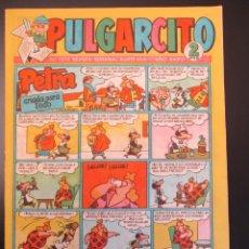 Tebeos: PULGARCITO (1946, BRUGUERA) 1369 · 2-VIII-1957 · PULGARCITO. Lote 269404828