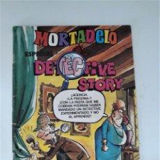 Tebeos: MORTADELO ESPECIAL Nº 175 - DETECTIVE STORY (CON POSTER CENTRAL Y HISTORIA DE RIC HOCHET). Lote 269442088