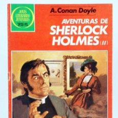 Tebeos: JOYAS LITERARIAS JUVENILES 268. AVENTURAS DE SHERLOCK HOLMES II (A. CONAN DOYLE) 1984. OFRT. Lote 271929423