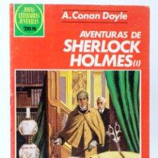 Tebeos: JOYAS LITERARIAS JUVENILES 266. AVENTURAS DE SHERLOCK HOLMES I (A. CONAN DOYLE) BRUGUERA, 1983. OFRT. Lote 269443613