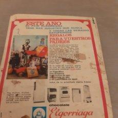 Tebeos: CUENTO DE SISSI,AÑOS 60,CON PROPAGANDAJUGUETES DE REYES DEL PAJE ELGORRIAGA.. Lote 269464908