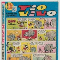 Tebeos: TIO VIVO - Nº 498 - ED. BRUGUERA - 1970. Lote 269579898