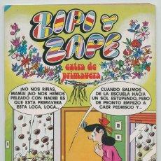 Tebeos: ZIPI Y ZAPE - EXTRA DE PRIMAVERA - ED. BRUGUERA - 1978. Lote 269584178