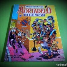 Tebeos: MAGOS DEL HUMOR Nº 2 MORTADELO Y FILEMON TAPA DURA BRUGUERA EXCELENTE ESTADO. Lote 269703598