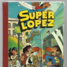 Tebeos: SUPER LÓPEZ TOMO 1, 1982, PRIMERA EDICIÓN, BRUGUERA. Lote 269732223