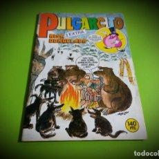 Tebeos: PULGARCITO EXTRA Nº 74 CON CALENDARIO POSTER PERSONAJES BRUGUERA EXCELENTE ESTADO. Lote 269770503