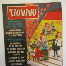 Tebeos: TIO VIVO (1957, CRISOL / BRUGUERA) 24 · 10-XI-1957 · TIO VIVO. Lote 269780673