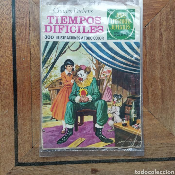 JOYAS LITERARIAS JUVENILES TIEMPOS DIFÍCILES CHARLES DICKENS (Tebeos y Comics - Bruguera - Joyas Literarias)