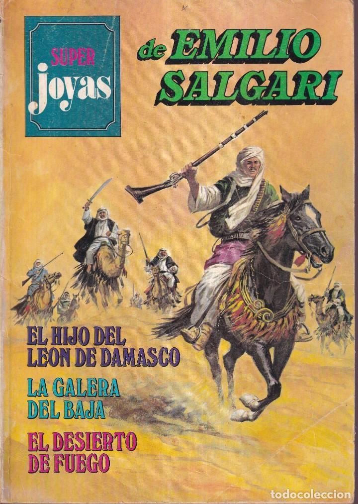 SUPER JOYAS Nº 36 EMILIO SALGARI - ED. BRUGUERA 1980 (Tebeos y Comics - Bruguera - Joyas Literarias)