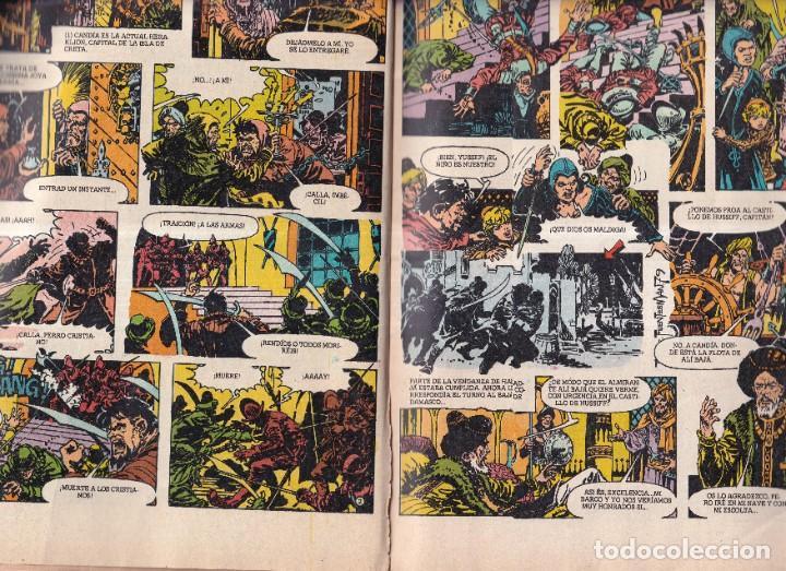 Tebeos: SUPER JOYAS Nº 36 EMILIO SALGARI - ED. BRUGUERA 1980 - Foto 2 - 269815178