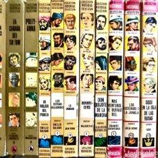 Tebeos: LOTE 12 LIBROS COLECCION HISTORIAS SELECCION CLASICOS BRUGUERA - DON QUIJOTE AVENTURAS BUFFALO BILL. Lote 287318903