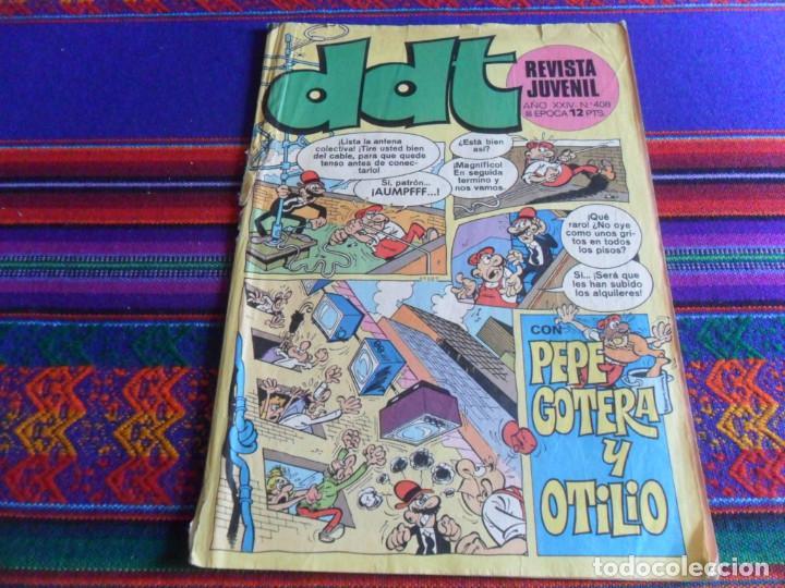 DDT Nº 338 CON ASTERIX Y LUCKY LUKE Y 408. BRUGUERA 1974. 8 PTS. (Tebeos y Comics - Bruguera - DDT)