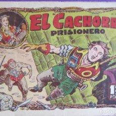 Tebeos: EL CACHORRO Nº 34. IRANZO. EDITORIAL BRUGUERA, ORIGINAL 1951. EL CACHORRO PRISIONERO. Lote 270146193