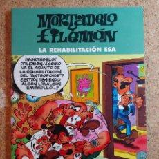 Tebeos: COMIC DE MORTADELO Y FILEMON EN LA REHABILITACION ESA. Lote 270194533