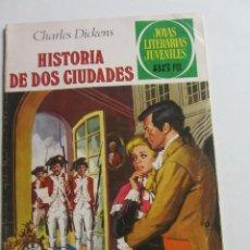 Tebeos: JOYAS LITERARIAS JUVENILES Nº 3 HISTORIA DE DOS CIUDADES BRUGUERA ARX21. Lote 270226048