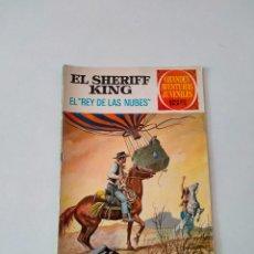 Tebeos: EL SHERIFF KING NÚMERO 46 EL REY DE LAS NUBES 1 EDICIÓN AÑO 1973 EDITORIAL BRUGUERA. Lote 270227908