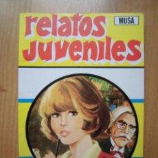 Tebeos: RETAPADO MUSA RELATOS JUVENILES INCLUYE 3 TÍO ARTHUR, 1 CATY Y 1 EMMA JOYAS LITERARIAS JUVENILES. Lote 270375088
