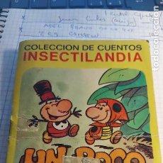 Tebeos: CUENTO DE INSECTILANDIA EDICCION BRUGUERA. Lote 270391393