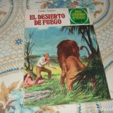 Tebeos: EL DESIERTO DE FUEGO - JOYAS LITERARIAS JUVENILES - Nº 223 - BRUGUERA - 1979. Lote 270409473