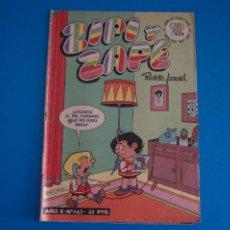 Tebeos: COMIC DE ZIPI Y ZAPE AÑO 1981 Nº 462 DE BRUGUERA LOTE 14 D. Lote 270520863