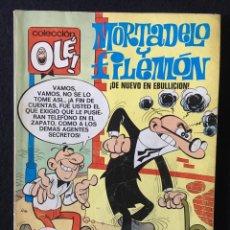Tebeos: OLÉ!, Nº 5. MORTADELO Y FILEMÓN, ¡DE NUEVO EN EBULLICIÓN! 3ª EDICIÓN, BRUGUERA. Lote 270530263