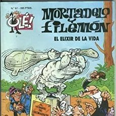 Tebeos: MORTADELO Y FILEMÓN. Nº 67. EL ELIXIR DE LA VIDA. Lote 270534088