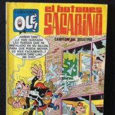 Tebeos: OLÉ!, Nº 15, EL BOTONES SACARINO. CAMPEÓN DEL DESATINO, 2ª EDICIÓN, BRUGUERA. Lote 270535033