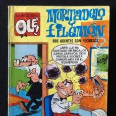 Tebeos: OLÉ!, Nº 18, MORTADELO Y FILEMÓN. DOS AGENTES CON RECURSOS, 2ª EDICION, BRUGUERA. Lote 270536973
