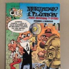 """Tebeos: MORTADELO Y FILEMON """"Y PEPE GOTERA Y OTILIO PITORREO A DOMICILIO"""", F.IBÁÑEZ,OLÉ N 115. Lote 270555558"""
