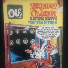 Tebeos: COMIC - MORTADELO Y FILEMON - EL BOTONES SACARINO - SIR TIM O'THEO - BRUGUERA - 1985. Lote 270562303