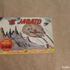 BDs: EL JABATO Nº 269, ORIGINAL, EDITORIAL BRUGUERA. Lote 270620908