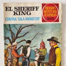 Tebeos: EL SHERIFF KING #24 GRANDES AVENTURAS JUVENILES - BRUGUERA. Lote 270680443