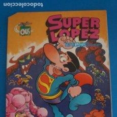 Tebeos: COMIC DE OLE SUPER LOPEZ AÑO 1992 Nº 1 DE BRUGUERA LOTE 22 D. Lote 270880663